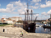 Vila do Conde marina,Portugal Royalty Free Stock Image