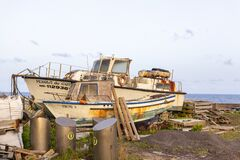 Old Corvo Boats