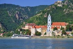 A vila do duernstein imagem de stock