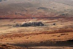 Vila do Masai Foto de Stock