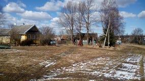 Vila do russo Foto de Stock Royalty Free