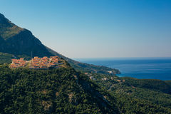 Vila do russo na montanha em Montenegro Fotografia de Stock Royalty Free