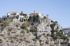 Vila do século XI de Gourdon foto de stock royalty free