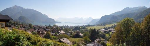 Vila do St Gilgen em Salzburg Áustria Fotografia de Stock Royalty Free