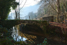 Vila dos baume-les-Messieurs france imagem de stock royalty free