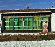 Vila dos Himalayas - Tibet - de Tingri imagem de stock