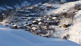 Vila dos povos de Lisu fotografia de stock