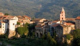 Vila em Italy do sul imagens de stock