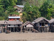 Vila em Kala Island, Myanmar Imagens de Stock Royalty Free