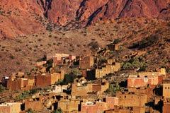 Vila em Marrocos Fotos de Stock Royalty Free