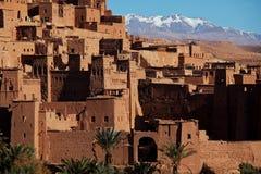 Vila em Marrocos Imagem de Stock