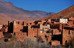 Vila em Marrocos Fotografia de Stock