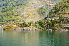 Vila em Noruega Foto de Stock Royalty Free
