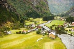 Vila em Noruega Fotografia de Stock Royalty Free