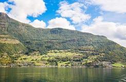 Vila em Noruega Fotografia de Stock