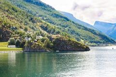 Vila em Noruega Imagem de Stock