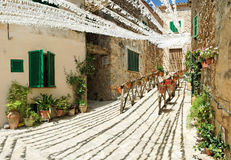 Vila espanhola Imagens de Stock