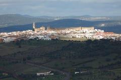 Vila espanhola com luz solar especial Fotografia de Stock Royalty Free