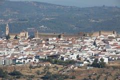 Vila espanhola Cumbres Mayores, Huelva Imagem de Stock Royalty Free