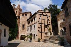 Vila espanhola em Mallorca fotos de stock