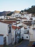 Vila espanhola rural de Lubrin na região de Adalusian de Espanha foto de stock royalty free