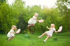 vila för barn en ferie in arkivfoton