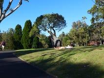 vila för park royaltyfri bild