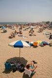 vila för strand Arkivfoton