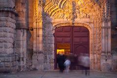 Vila faz a igreja de Conde Fotografia de Stock Royalty Free