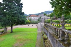 Vila Flor, Guimaraes, Португалия стоковое фото rf