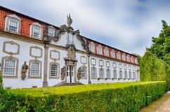 Vila Flor Palace, Guimaraes, Portugal Stockbilder