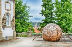 Vila Flor Palace, Guimaraes, Portugal Lizenzfreie Stockfotos