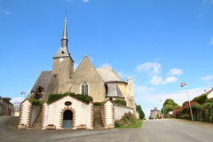 Vila francesa Fotografia de Stock Royalty Free