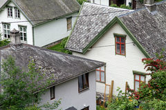 Vila Geiranger, fiorde de Geiranger, Noruega Imagem de Stock