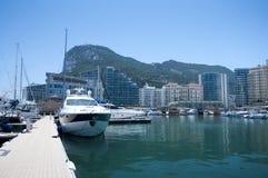 Vila Gibraltar do oceano Imagem de Stock Royalty Free