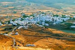 Vila grega Imagem de Stock