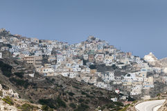 Vila grega Imagens de Stock Royalty Free