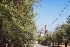 Vila grega Imagem de Stock Royalty Free