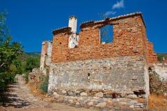 Vila grega/turca velha de Doganbey, Turquia 16 Imagem de Stock Royalty Free