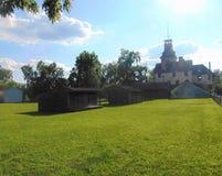 Vila histórica Fotos de Stock