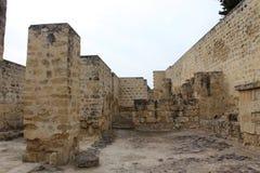 Vila histórica abandonada Imagens de Stock Royalty Free
