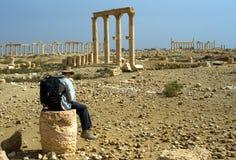Vila i den forntida staden Arkivfoto