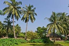 Vila indiana Foto de Stock