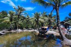 Vila Indonésia de Mandeh fotos de stock