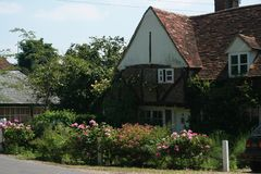 Vila inglesa Imagens de Stock