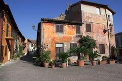 Vila italiana velha Fotografia de Stock