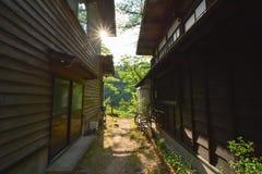 Vila japonesa Fotografia de Stock Royalty Free