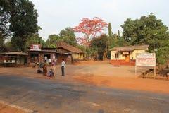 Vila limpa indiana foto de stock
