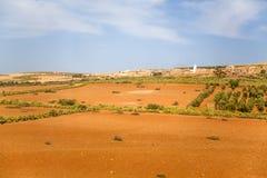 Vila marroquina Foto de Stock