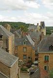 Vila medieval Foto de Stock Royalty Free